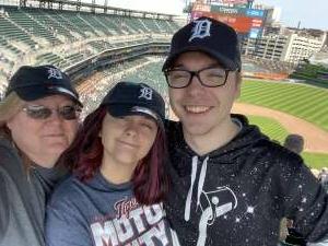 Cassandra M attended Detroit Tigers vs. Texas Rangers - MLB on Jul 22nd 2021 via VetTix