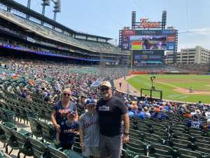Click To Read More Feedback from Detroit Tigers vs. Texas Rangers - MLB
