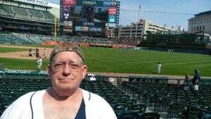 Kurk @ Detroit Tigers attended Detroit Tigers vs. Texas Rangers - MLB on Jul 22nd 2021 via VetTix