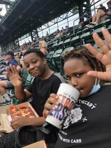 ReBorN attended Detroit Tigers vs. Texas Rangers - MLB on Jul 22nd 2021 via VetTix