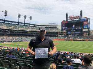Michael Schmidt attended Detroit Tigers vs. Texas Rangers - MLB on Jul 22nd 2021 via VetTix