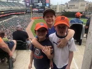 Josh attended Detroit Tigers vs. Texas Rangers - MLB on Jul 22nd 2021 via VetTix