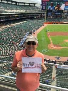 Vito attended Detroit Tigers vs. Texas Rangers - MLB on Jul 22nd 2021 via VetTix