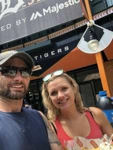 JT attended Detroit Tigers vs. Texas Rangers - MLB on Jul 22nd 2021 via VetTix