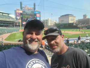 Mark attended Detroit Tigers vs. Texas Rangers - MLB on Jul 22nd 2021 via VetTix