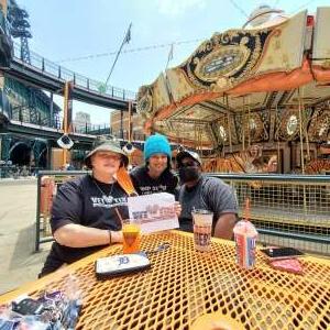 Jean Stigen attended Detroit Tigers vs. Texas Rangers - MLB on Jul 22nd 2021 via VetTix