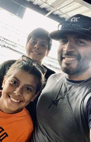 Pedro attended Detroit Tigers vs. Texas Rangers - MLB on Jul 22nd 2021 via VetTix