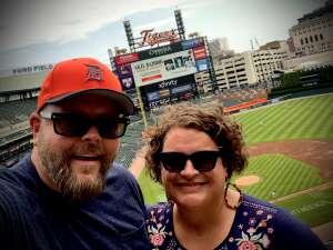 Jesse attended Detroit Tigers vs. Texas Rangers - MLB on Jul 22nd 2021 via VetTix