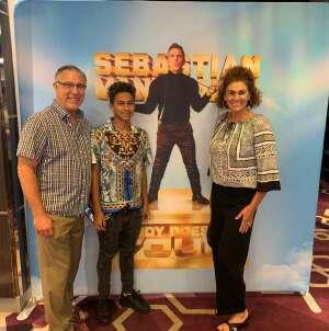 Edwin Miller Family attended Sebastian Maniscalco on Jul 22nd 2021 via VetTix