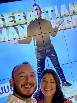 Al G.  attended Sebastian Maniscalco on Jul 22nd 2021 via VetTix
