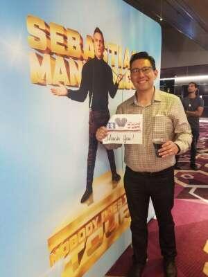 David  attended Sebastian Maniscalco on Jul 22nd 2021 via VetTix