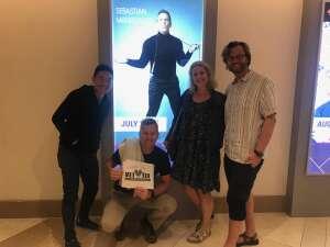 Craig K. attended Sebastian Maniscalco on Jul 22nd 2021 via VetTix