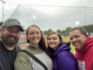 Randy attended Kane County Cougars vs. Sioux Falls Canaries - Fireworks Night!  - MLB Partner League on Jul 30th 2021 via VetTix