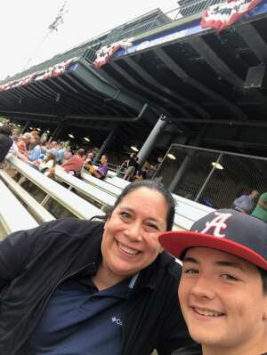 Brijitte attended Kane County Cougars vs. Sioux Falls Canaries - Fireworks Night!  - MLB Partner League on Jul 30th 2021 via VetTix