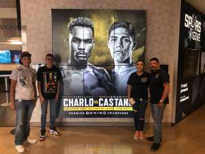 Chief Gonzalez attended Premier Boxing Champions: Charlo V Castano on Jul 17th 2021 via VetTix
