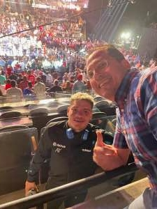 Lorie attended Premier Boxing Champions: Charlo V Castano on Jul 17th 2021 via VetTix