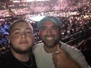 Jay attended Premier Boxing Champions: Charlo V Castano on Jul 17th 2021 via VetTix