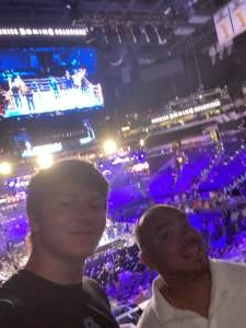 Juan attended Premier Boxing Champions: Charlo V Castano on Jul 17th 2021 via VetTix
