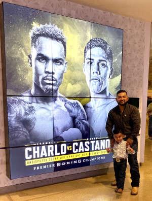 Dan attended Premier Boxing Champions: Charlo V Castano on Jul 17th 2021 via VetTix