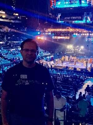 V attended Premier Boxing Champions: Charlo V Castano on Jul 17th 2021 via VetTix