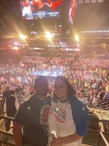 Luis  attended Premier Boxing Champions: Charlo V Castano on Jul 17th 2021 via VetTix