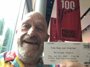 RobB attended Pump Boys and Dinettes on Jul 22nd 2021 via VetTix