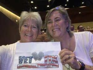 Mary attended Pump Boys and Dinettes on Jul 22nd 2021 via VetTix