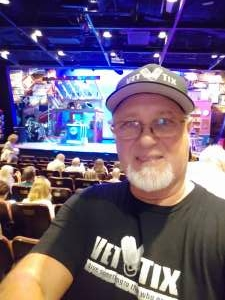 Tronjuan attended Pump Boys and Dinettes on Jul 22nd 2021 via VetTix