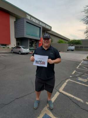 Greg H attended Pump Boys and Dinettes on Jul 22nd 2021 via VetTix