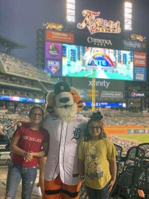 Eric attended Detroit Tigers vs. Baltimore Orioles - MLB on Jul 29th 2021 via VetTix