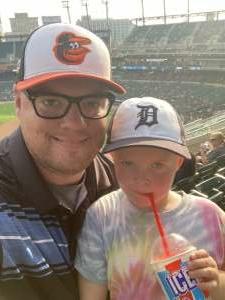 Chris attended Detroit Tigers vs. Baltimore Orioles - MLB on Jul 29th 2021 via VetTix