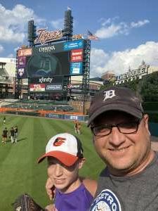 Jason K attended Detroit Tigers vs. Baltimore Orioles - MLB on Jul 29th 2021 via VetTix