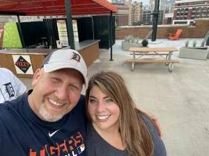 Jamie Hensley attended Detroit Tigers vs. Baltimore Orioles - MLB on Jul 29th 2021 via VetTix