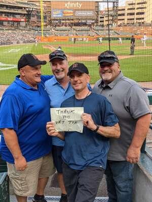 Eric V attended Detroit Tigers vs. Baltimore Orioles - MLB on Jul 29th 2021 via VetTix
