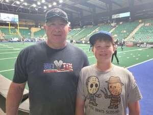 Click To Read More Feedback from Frisco Fighters vs. Northern Arizona Wranglers - Professional Indoor Football  (IFL)