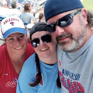 Tim attended Philadelphia Phillies vs. Atlanta Braves - MLB on Jul 25th 2021 via VetTix