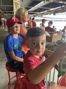 Rich S attended Philadelphia Phillies vs. Atlanta Braves - MLB on Jul 25th 2021 via VetTix
