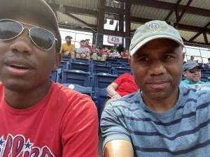 Vet Wife  attended Philadelphia Phillies vs. Atlanta Braves - MLB on Jul 25th 2021 via VetTix