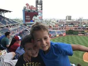 Stephanie F. attended Philadelphia Phillies vs. Atlanta Braves - MLB on Jul 25th 2021 via VetTix
