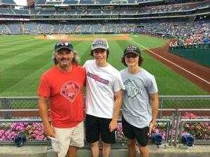 Matt T attended Philadelphia Phillies vs. Atlanta Braves - MLB on Jul 25th 2021 via VetTix