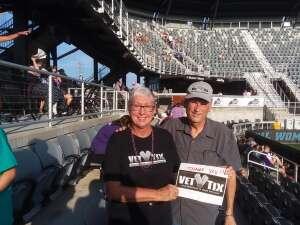 Bev attended Racing Louisville FC vs. Washington Spirit - USL on Jul 25th 2021 via VetTix