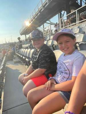 Doug Henning attended Racing Louisville FC vs. Washington Spirit - USL on Jul 25th 2021 via VetTix