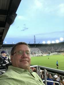 Allen attended Racing Louisville FC vs. Washington Spirit - USL on Jul 25th 2021 via VetTix