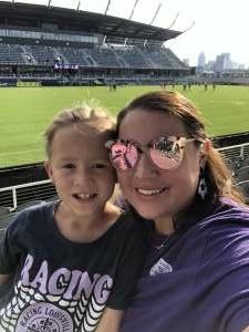 Melanie M attended Racing Louisville FC vs. Washington Spirit - USL on Jul 25th 2021 via VetTix