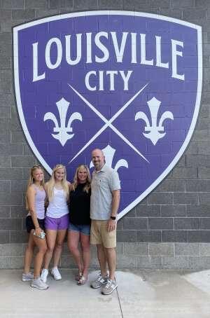 Ryan L. attended Racing Louisville FC vs. Washington Spirit - USL on Jul 25th 2021 via VetTix
