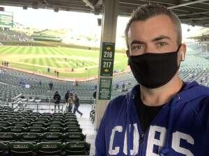 Alex attended Chicago Cubs vs. Minnestota Twins - MLB on Sep 22nd 2021 via VetTix