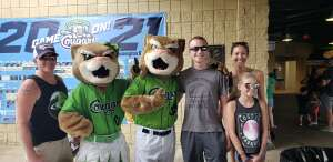 MD attended Kane County Cougars vs. Sioux Falls Canaries - MLB Partner League on Aug 1st 2021 via VetTix