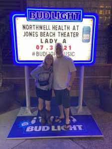 Ken D attended Lady a What a Song Can Do Tour 2021 on Jul 30th 2021 via VetTix