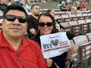 Javier attended Lady a What a Song Can Do Tour 2021 on Jul 30th 2021 via VetTix