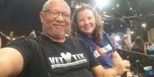 Eric C. attended Brad Paisley Tour 2021 on Aug 14th 2021 via VetTix